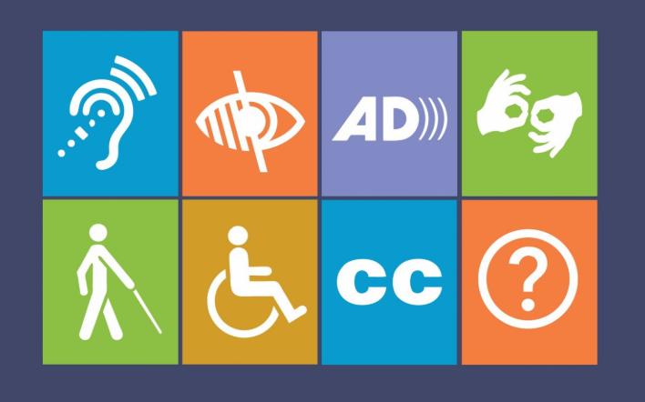 nesta imagem, temos 9 ícones coloridos, que representam algumas das deficiências mais comuns no mundo